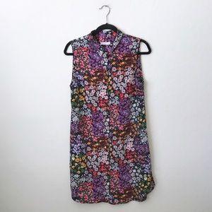 Equipment Michaela Floral Print Dress